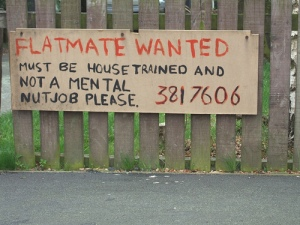 flatmate-wanted